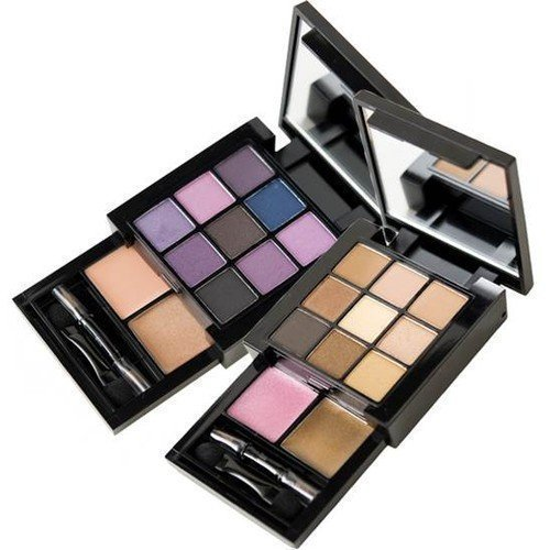 NYX PROFESSIONAL MAKEUP Smokey Look Nude on Nude Natural Look
