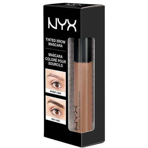NYX PROFESSIONAL MAKEUP Tinted Brow Mascara Black