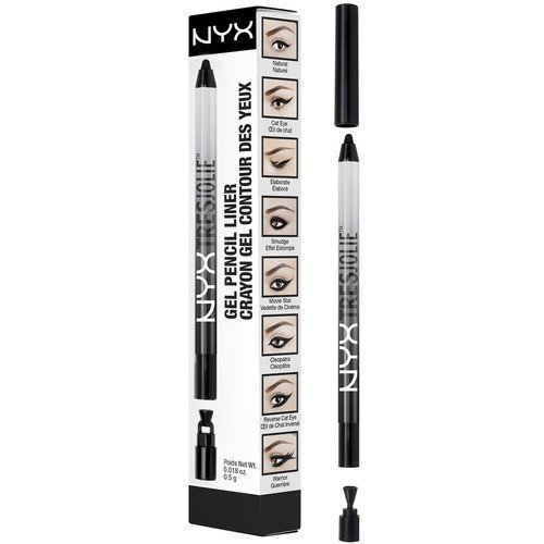 NYX PROFESSIONAL MAKEUP Tres Jolie Gel Pencil Liner Black
