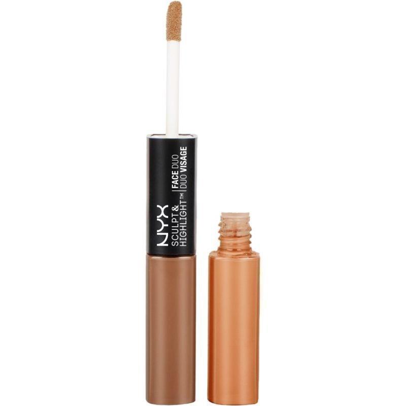 NYX Sculpt & Highlight Face Duo SHFD06 Espresso/Honey 2x5