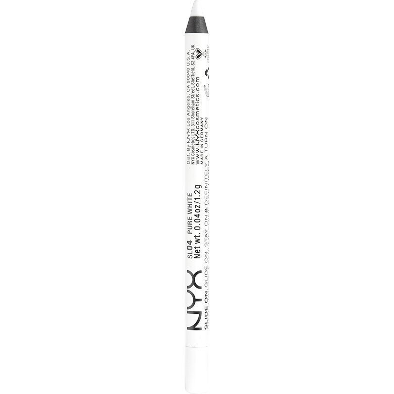NYX Slide On Pencil SL04 Pure White 1