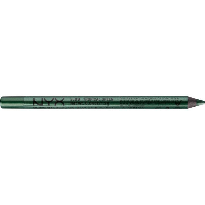 NYX Slide On Pencil SL09 Tropical Green 1