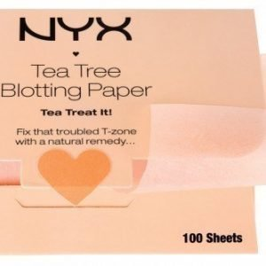 NYX Tea Tree Blotting Paper 100 kpl