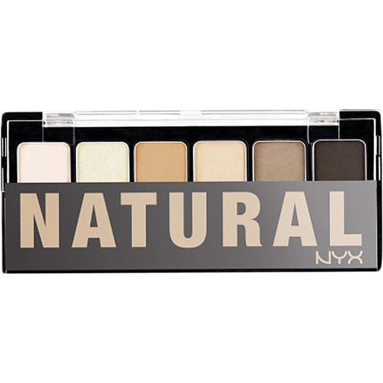 NYX The Natural Shadow Palette 6 Shadows