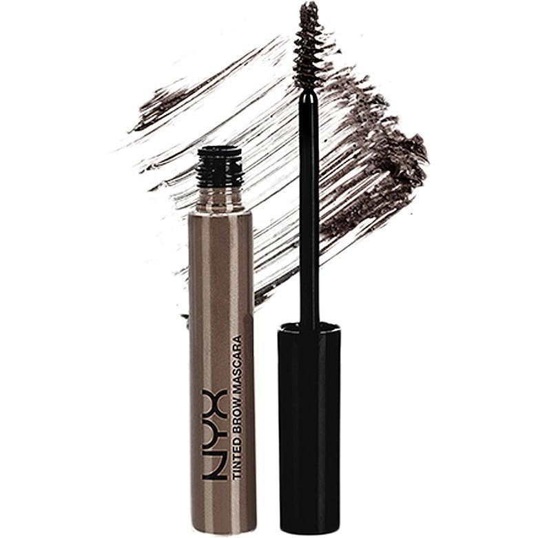 NYX Tinted Brow Mascara TBM05 Black 6