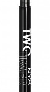 NYX Two Timer Dual Ended Eyeliner - Jet Black