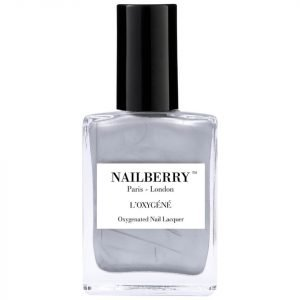 Nailberry L'oxygene Nail Lacquer Silver Lining