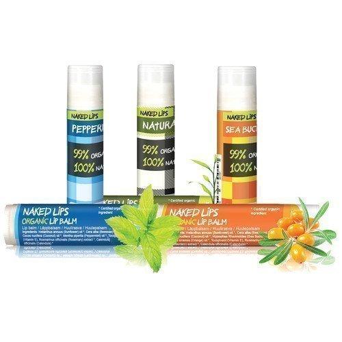 Naked Lips Organic Lip Balm Peppermint