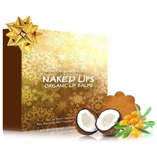 Naked Lips Organic Lip Balms Set