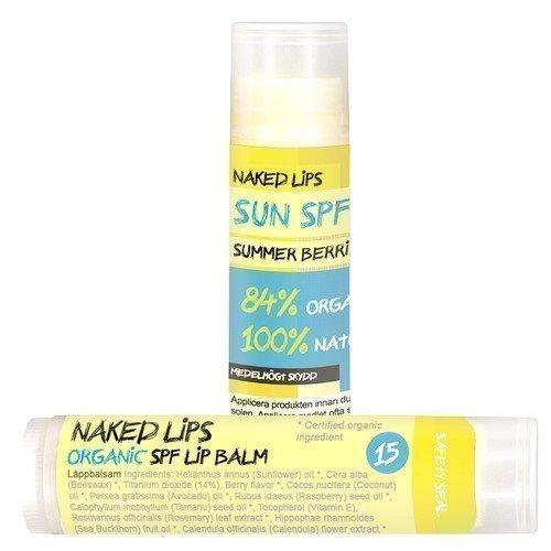 Naked Lips Organic Lips Sun Summer Berries SPF 15