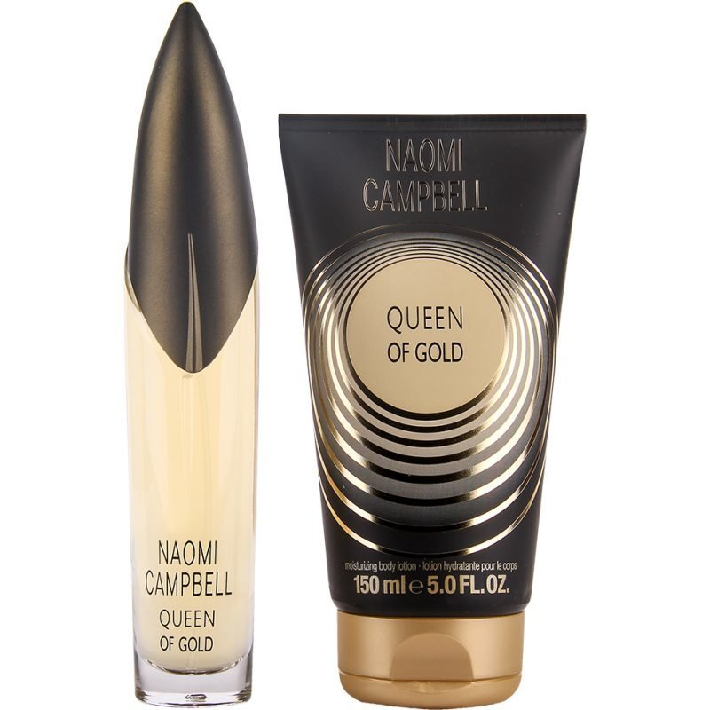 Naomi Campbell Queen Of Gold Duo EdT 50ml Body Lotion 150ml