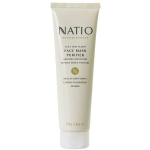 Natio Clay & Plant Face Mask Purifier 100 G