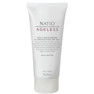 Natio Daily Moisturiser Uv Protection Spf 30+ 75 G