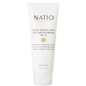 Natio Daily Protection Face Moisturiser Spf 15 100 G