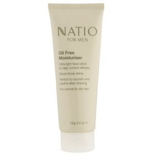 Natio For Men Oil Free Moisturiser 100 G