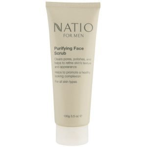 Natio For Men Purifying Face Scrub 100 G