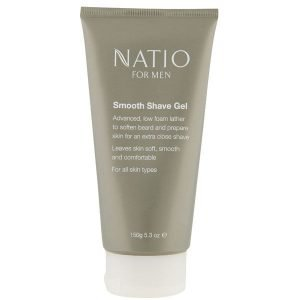 Natio For Men Smooth Shaving Gel 150 G