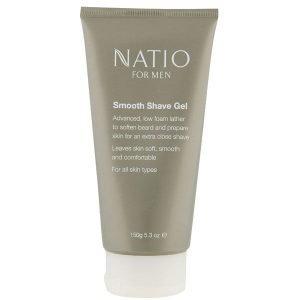 Natio For Men Smooth Shaving Gel 150 G