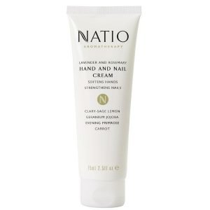 Natio Lavender And Rosemary Hand & Nail Cream 75 Ml