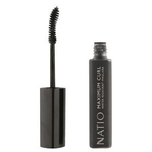 Natio Maximum Curl Water Resistant Mascara Blackest Black 10 Ml