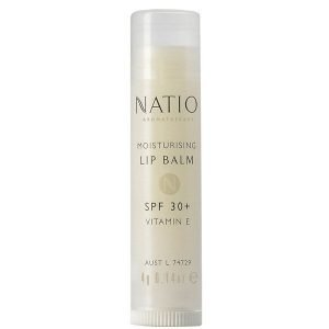 Natio Moisturising Lip Balm Spf 30+ 4 G
