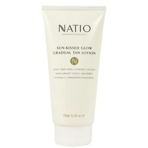 Natio Sun-Kissed Glow Gradual Tan Lotion 200 Ml