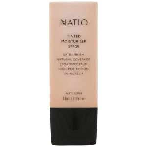 Natio Tinted Moisturiser Spf 20 Neutral 50 Ml