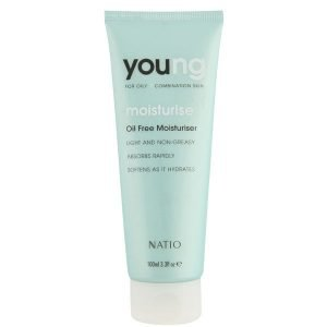 Natio Young Oil Free Moisturiser 100 Ml