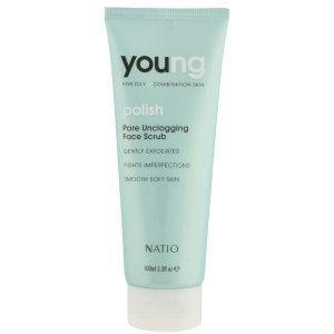 Natio Young Pore Unclogging Face Scrub 100 Ml