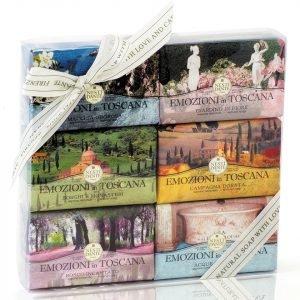 Nesti Dante Emozioni In Toscana Soap Collection Set 6 X 150 G