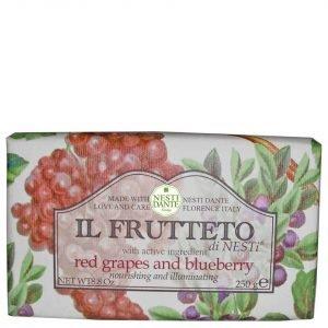 Nesti Dante Il Frutteto Red Grapes And Blueberry Soap 250 G