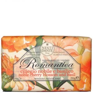 Nesti Dante Romantica Cherry Blossom And Basil Soap 250 G