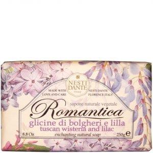 Nesti Dante Romantica Wisteria And Lilac Soap 250 G