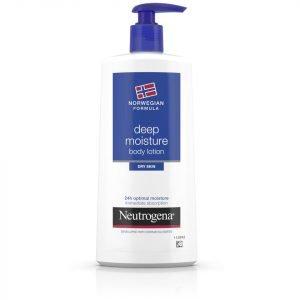 Neutrogena Norwegian Formula Deep Moisture Body Lotion For Dry Skin 400 Ml