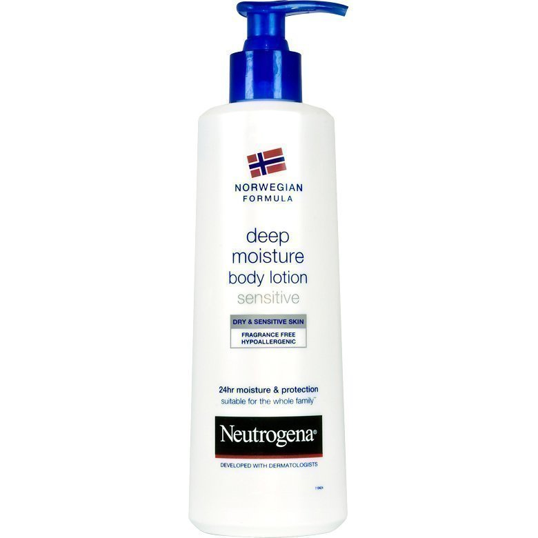 Neutrogena Norwegian Formula Deep Moisture Body Lotion Unscented 250ml