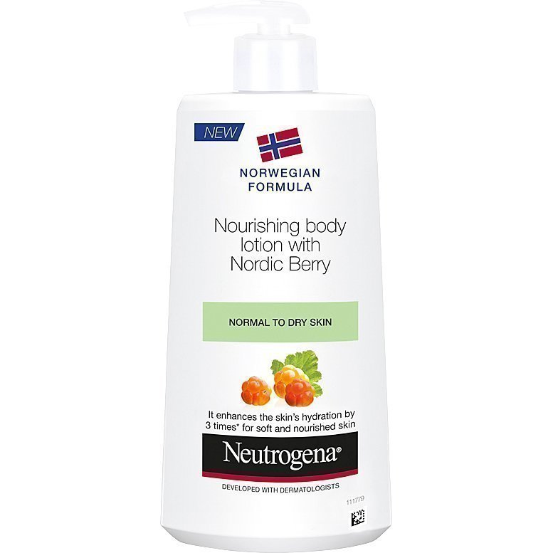 Neutrogena Norwegian Formula Nordic Berry Body Lotion 250ml