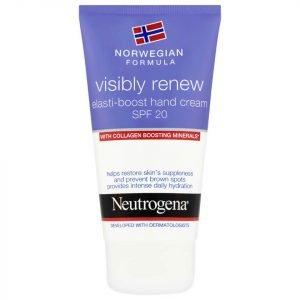 Neutrogena Norwegian Formula Visibly Renew Hand Cream Spf20 75 Ml