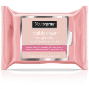 Neutrogena Pink Grapefruit Medicated Facial Wipes