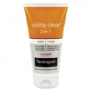 Neutrogena Visibly Clear 2in1 Puhdistusnaamio 150 Ml