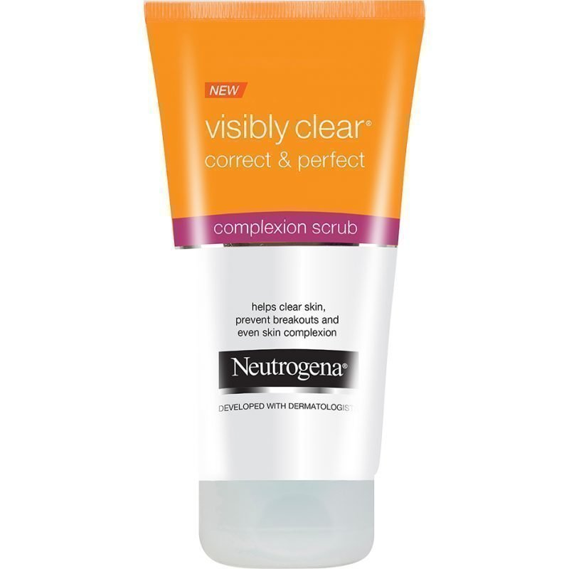 Neutrogena Visibly Clear Correct & Perfect 3in1 Scrub