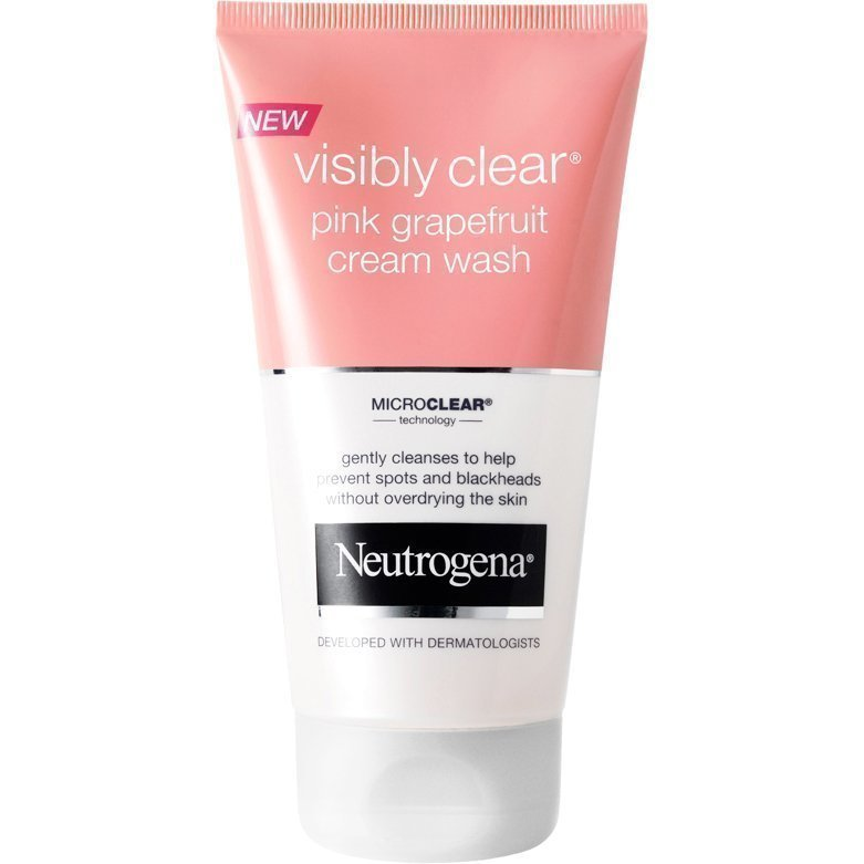 Neutrogena Visibly Clear Pink Grapefruit Cream Wash 150ml