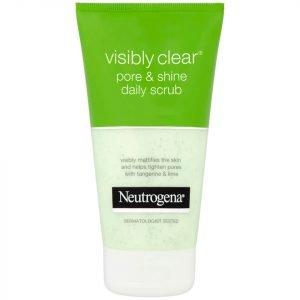 Neutrogena Visibly Clear Pore And Shine Daily Scrub 150 Ml