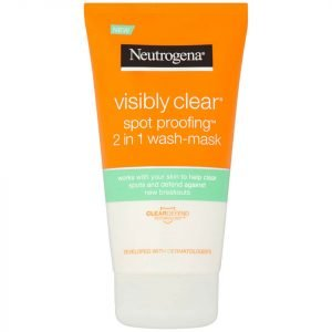 Neutrogena Visibly Clear Spot Proofing 2-In-1 Wash-Mask