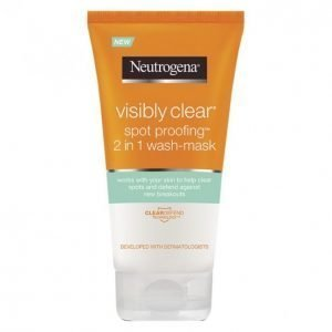 Neutrogena Visibly Clear Spot Proofing 2in1 Wash-Mask Puhdistusnaamio 150 Ml