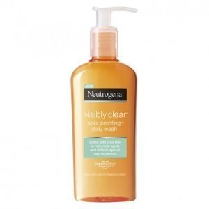 Neutrogena Visibly Clear Spot Proofing Daily Wash Puhdistusgeeli 200 Ml