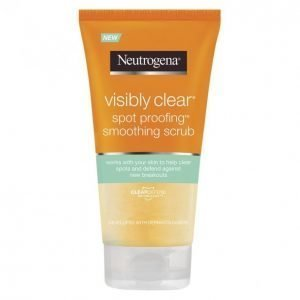 Neutrogena Visibly Clear Spot Proofing Smoothing Scrub Kuorintavoide 150 Ml