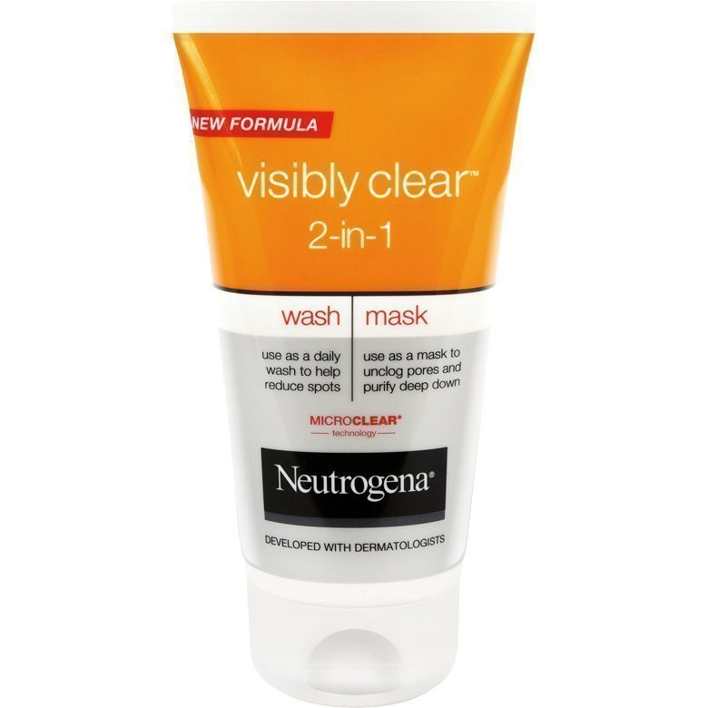 Neutrogena Visibly Clear1 Wash & Mask 150ml