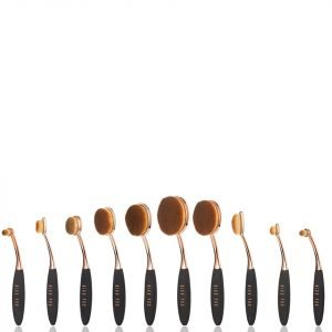 Niko Pro Complete Ova Brush Set Black / Rose Gold
