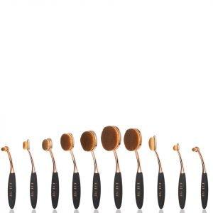 Niko Pro Complete Ova Brush Set Black / Rose Gold
