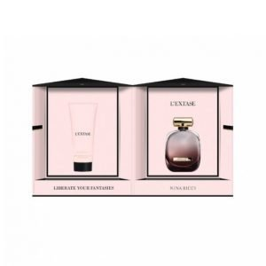 Nina Ricci L'extase W Edp 50 Ml + Body Lotion 100 Ml Lahjapakkaus